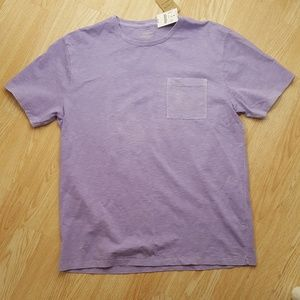 J.Crew Large Garment Dyed Purple T